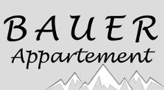 Appartement Bauer